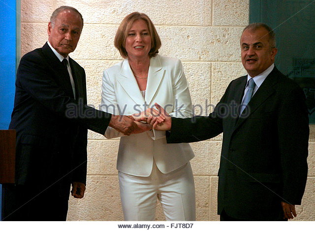 Livni and Abu El-Gheit