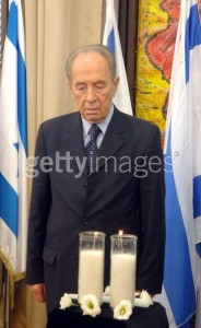 Shimon Perez sad at last