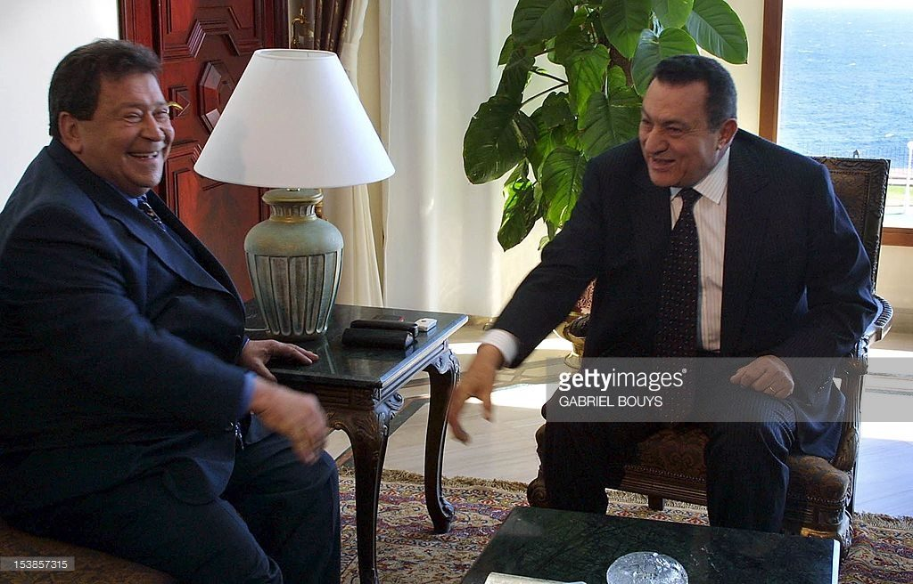 Mubarak and Ben-Eliezer in Sharm El-Sheikh